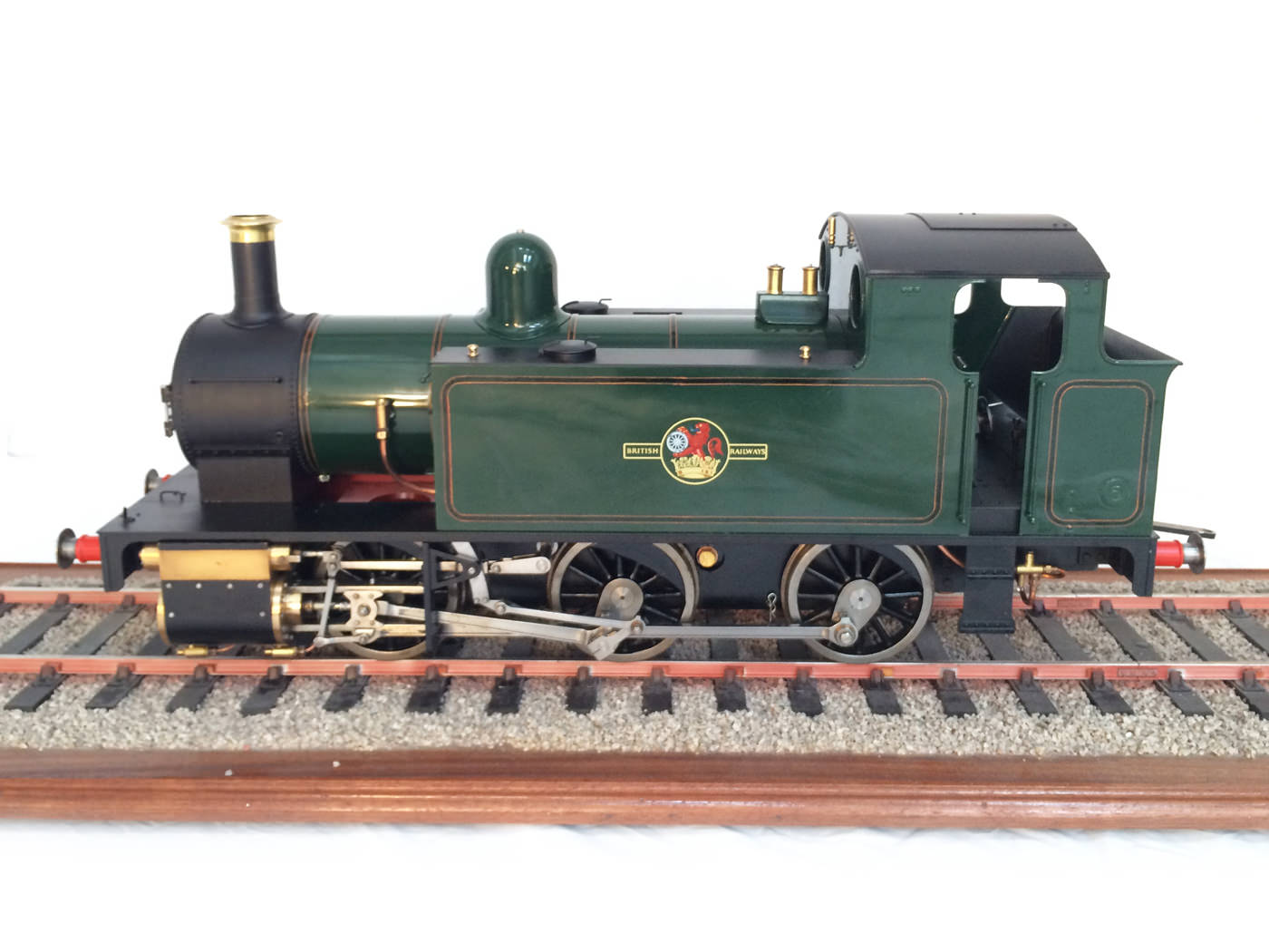 4 3/4″ or 5″ Gauge Simplex Steam Locomotive Kit – SOLD :: Golden